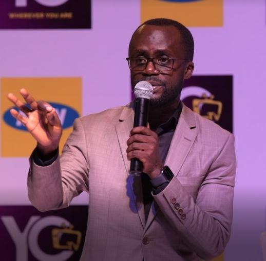 YoTV's Chief Executive Officer, Aggrey Mugisha