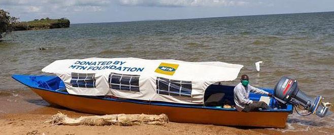 MTN water ambulance