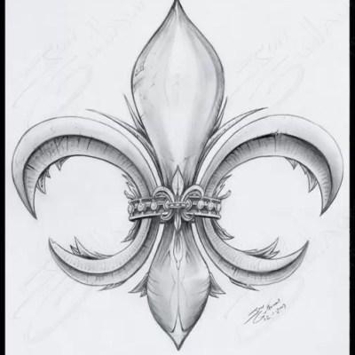 Signature Fleur De Lis