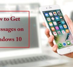 how to get imessages on Windows 10