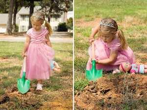 Digging Princess — Wordless Wednesday