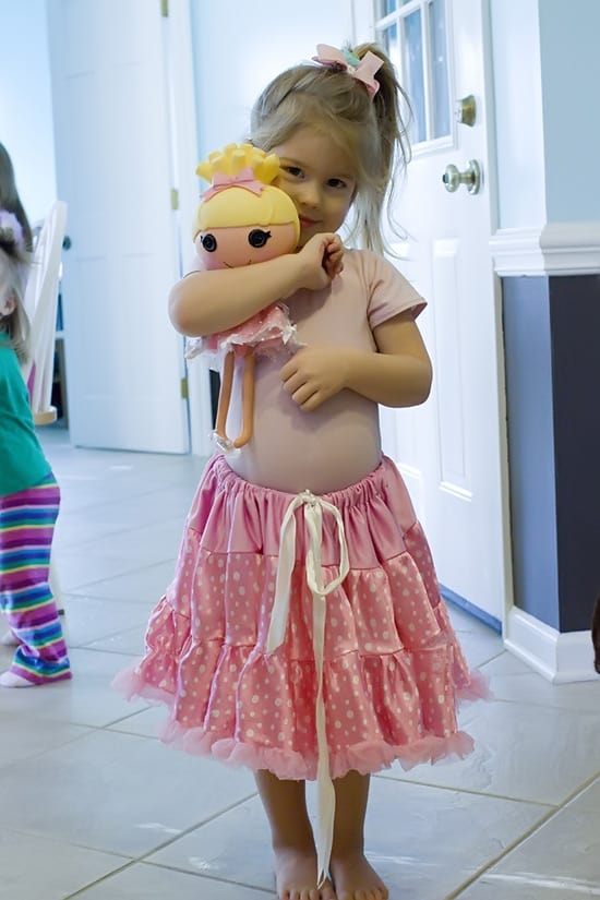 Lalaloopsy Cinder Slippers Costume