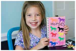 Easy and Fun Party Craft- Personalized Sketchbook Journals