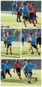 First Football Game