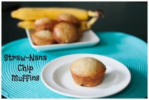 Straw-Nana Muffin Recipe