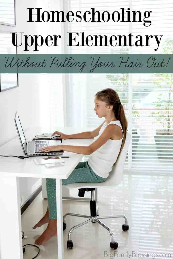 Simple tips to homeschool tweens without pulling your hair out.