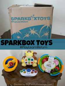 Play, Learn, and Return with Sparkbox Toys {review}