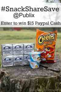Work and Play Hard, Snack Harder with Snack Share Save at Publix {Giveaway}