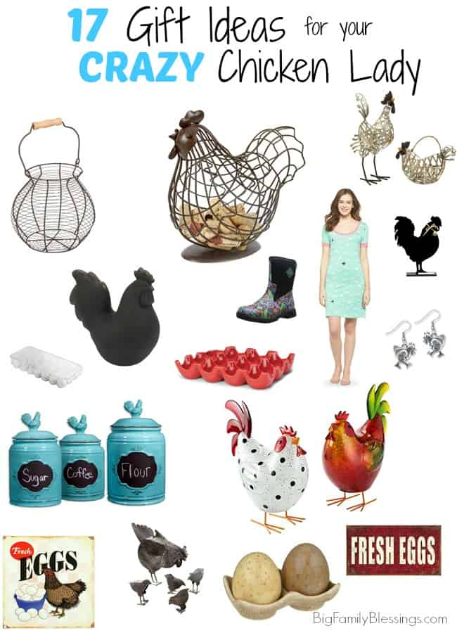 17 Great Gift Ideas for the Crazy Chicken Lady in Your Life