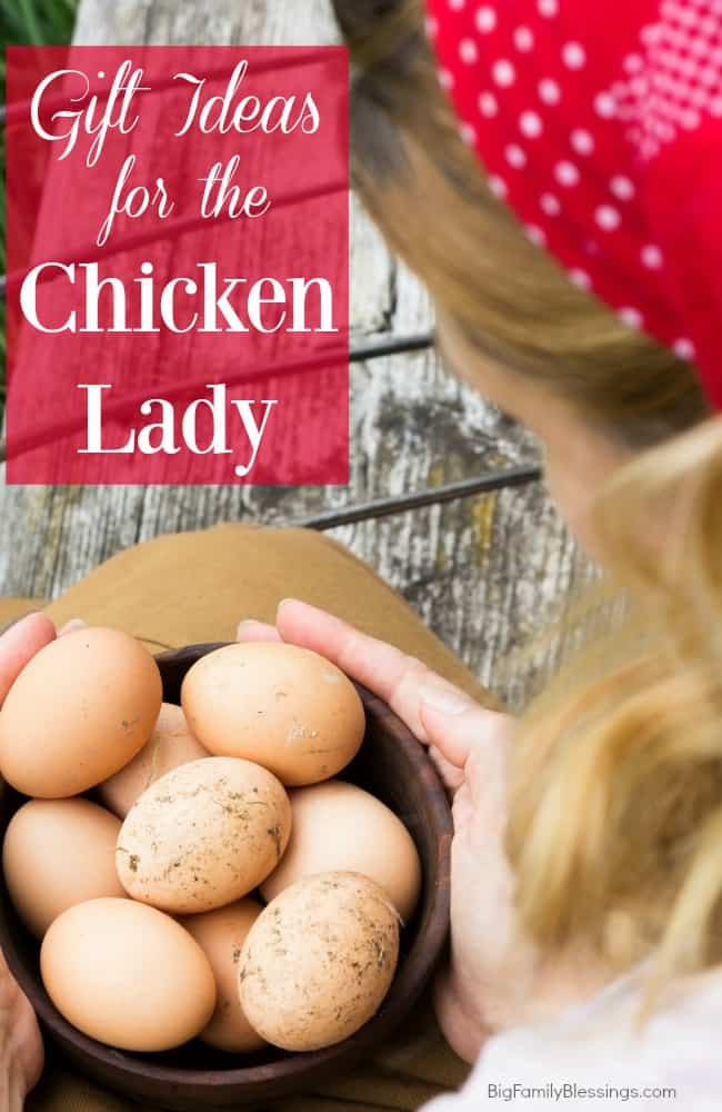 Gift Ideas for the Crazy Chicken Lady