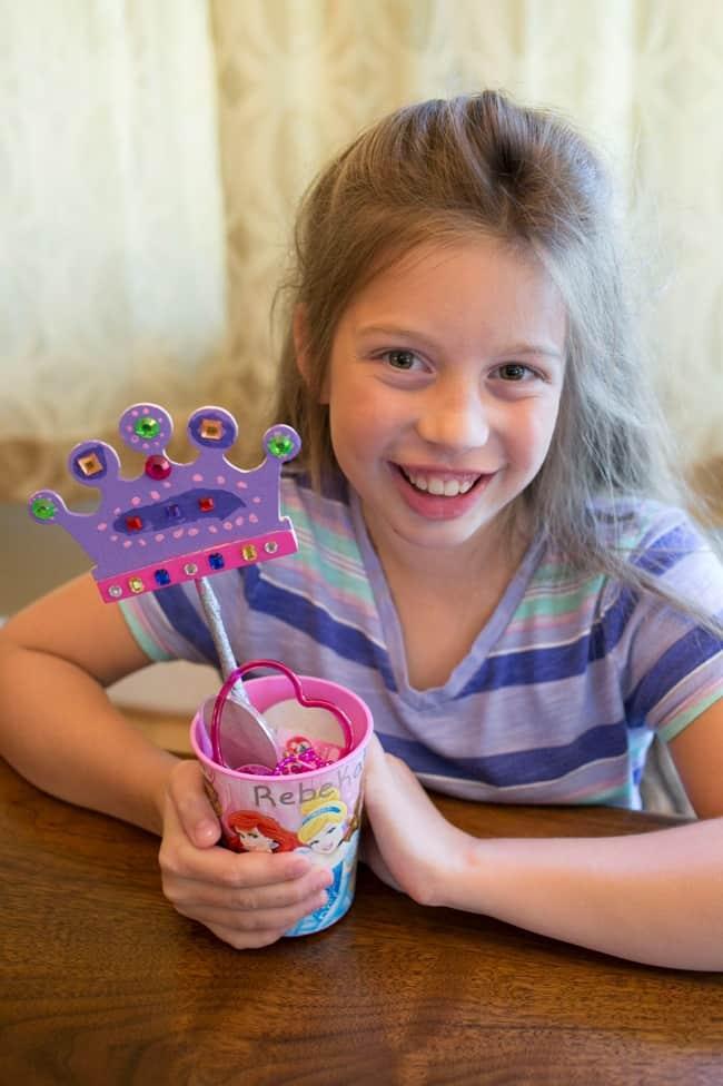 Disney Princess Party Craft and Favor Tutorial