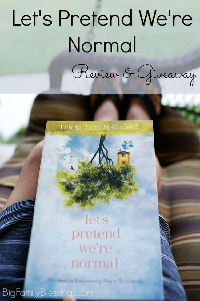 Let's Pretend We're Normal Review and Giveaway