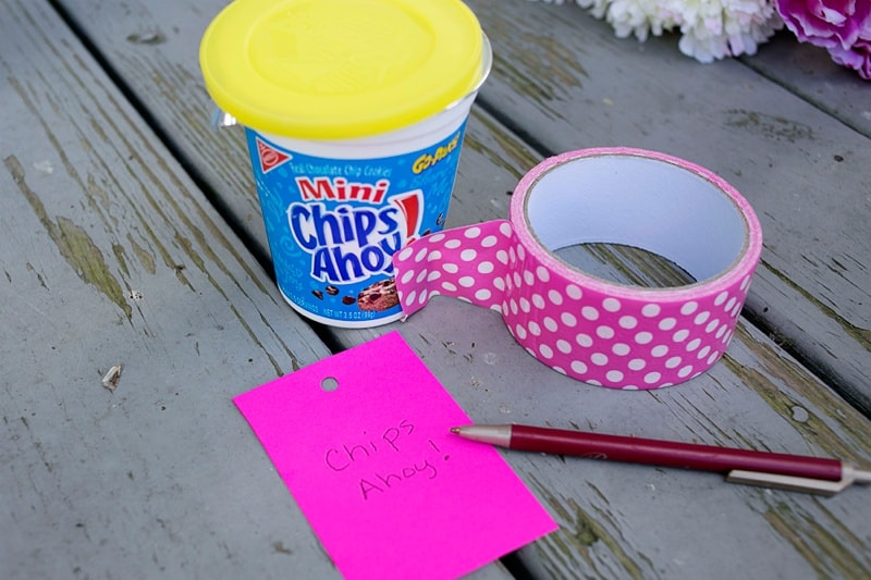 DIY Flower Pot Snacks
