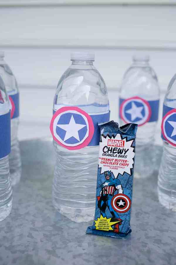 Superhero Snack for Super Sports Powers