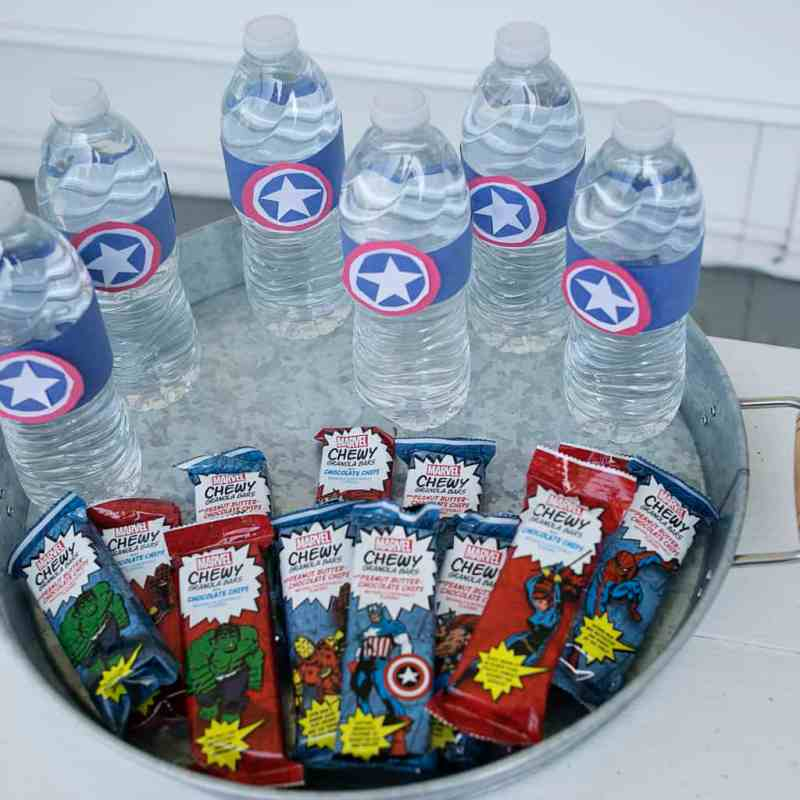 Super Hero Snack for Super Sports Powers {Tutorial}