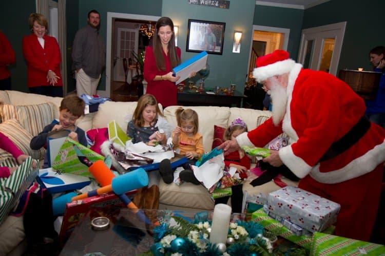 Surprise Santa