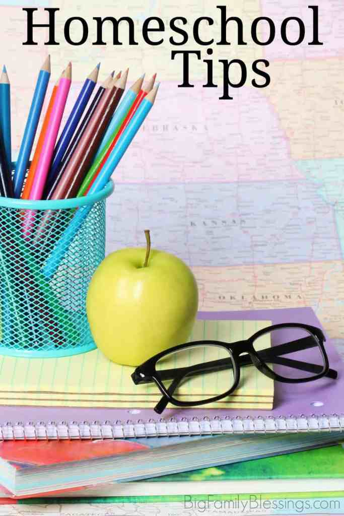 The best homeschool tips from a mom of 6!