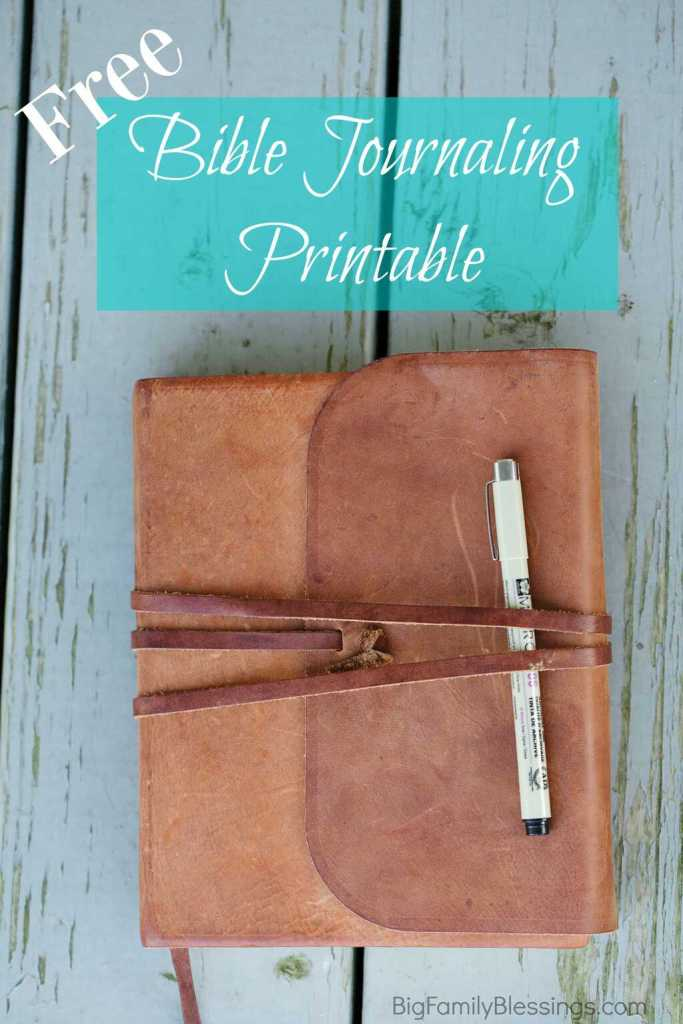 How often do you think of something you want to journal in your Bible – a point made during a sermon, a prayer, a verse- when you are away from home? Later, you get home and sit down with your art supplies, only to realize that you've forgotten what you meant to journal. It happens to me all the time! I created a printable to keep in my Bible for jotting down things I want to add to my journaling Bible later.