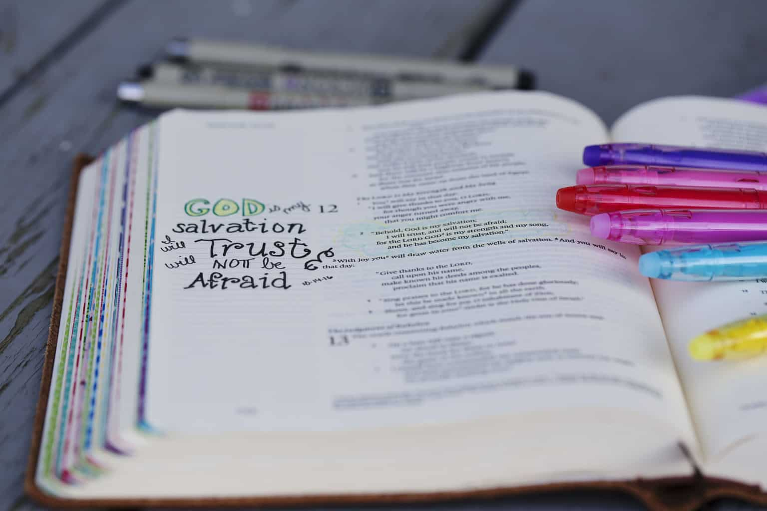 Free Bible Journaling 'to journal' Printable!