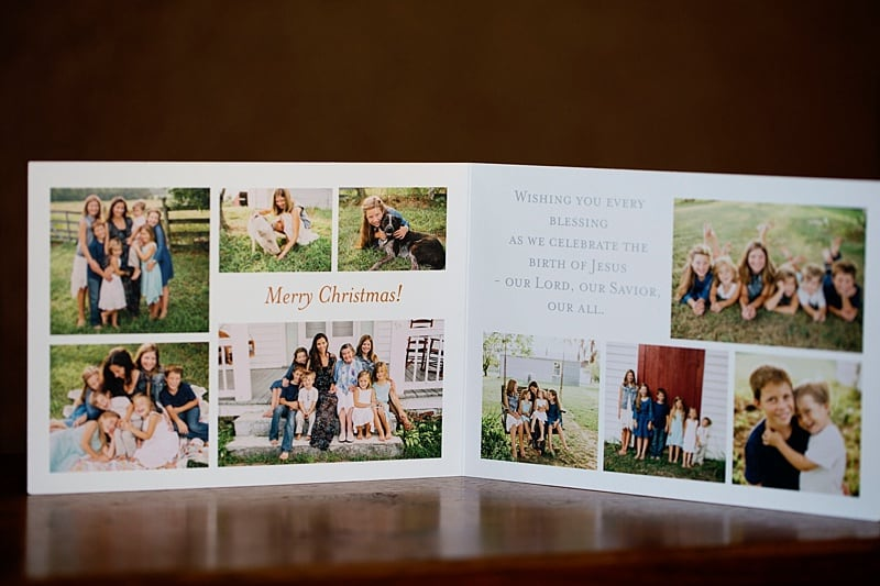 Christmas Card Reveal