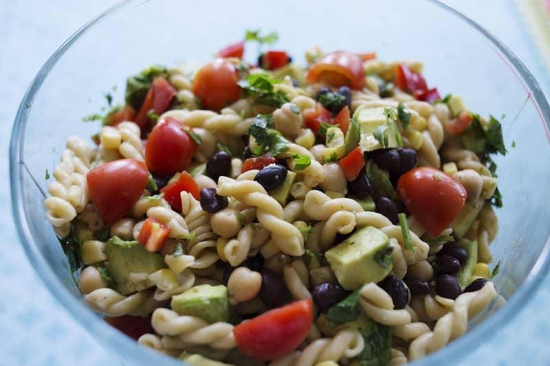 Black Bean Cilantro Pasta Salad
