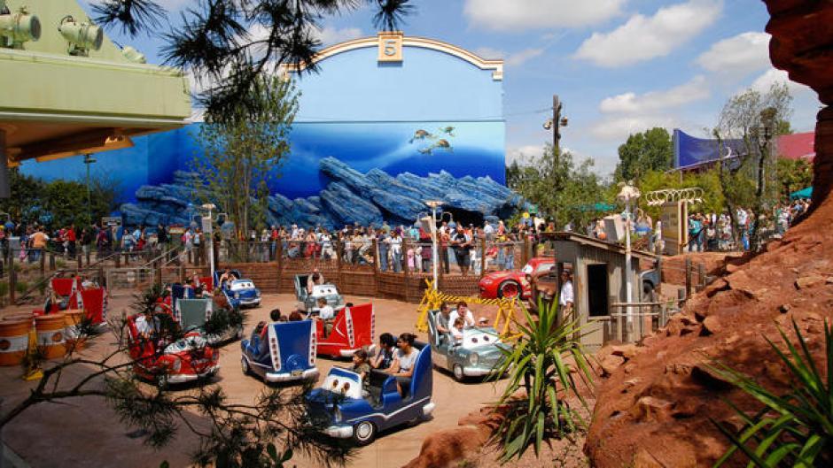 Under 5s at Disneyland Paris Cars Quatre Roues Rallye