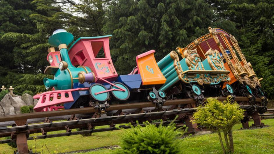 Under 5s at Disneyland Paris casey jr circus train