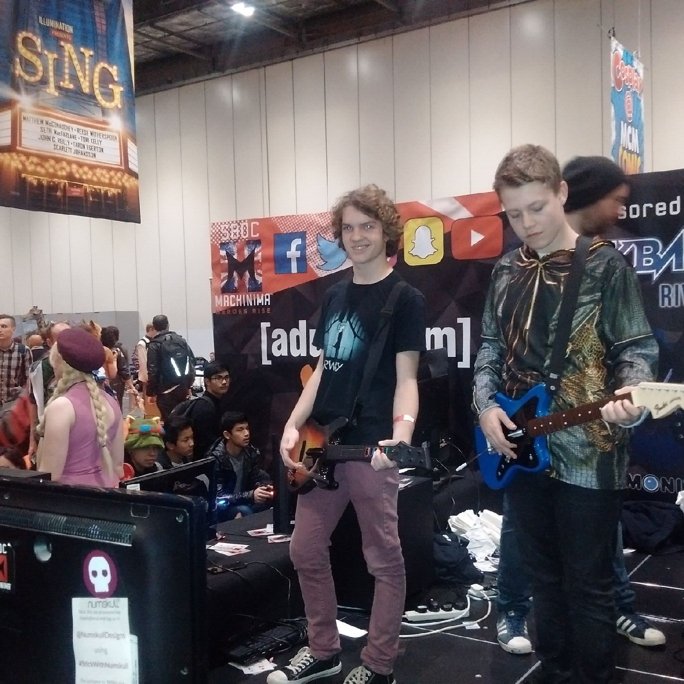 MCM Comic Con London 2016