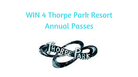 #WIN 4 Thorpe Park Resort Annual Passes.