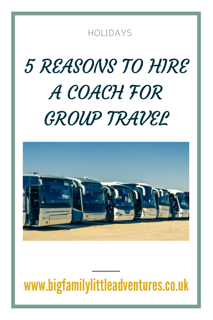 If you have a large group of people going on holiday together it may be cheaper and less stressful to hire a coach, click through to find out five reasons to hire a coach for group travel