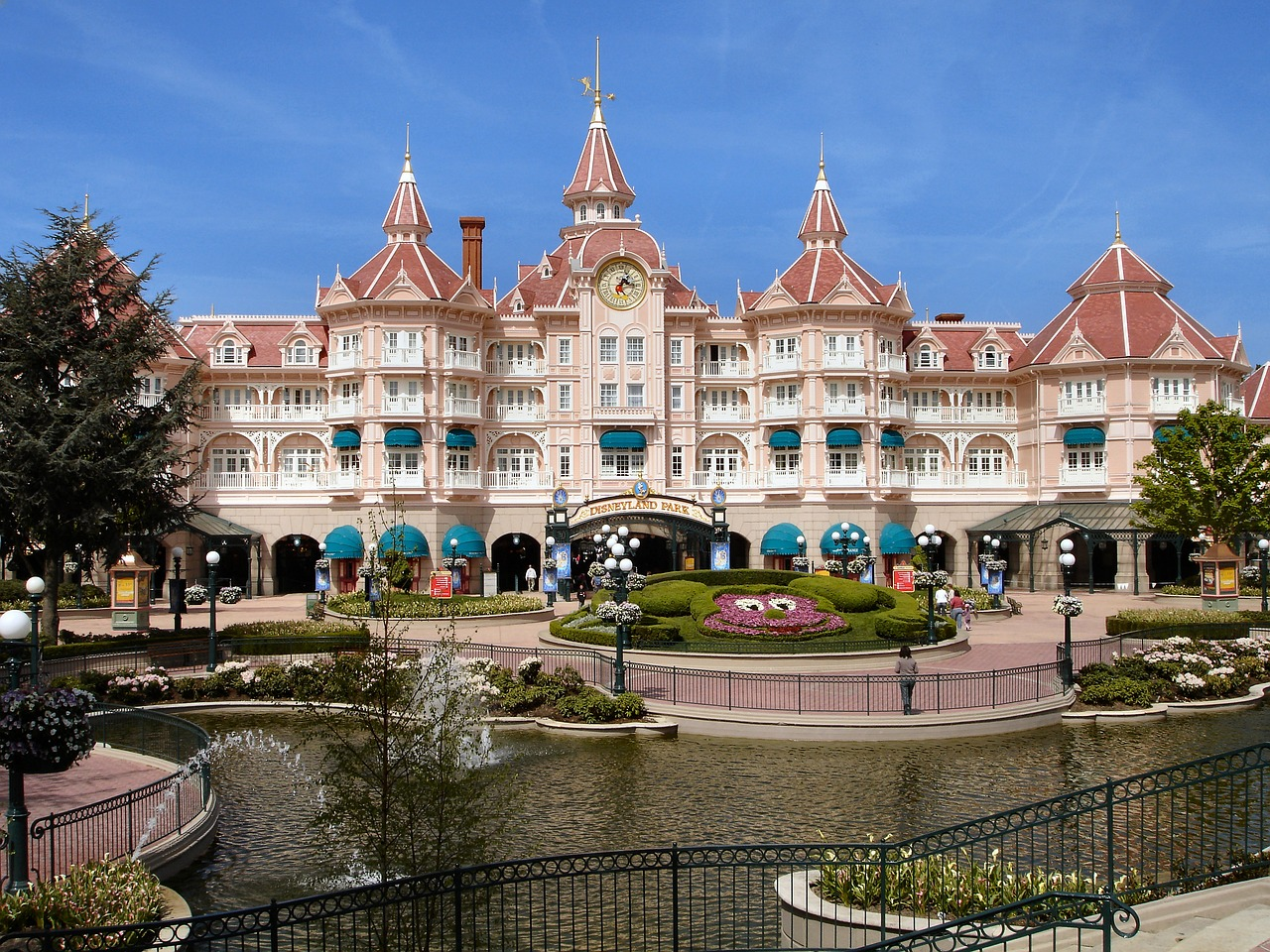 Entrance to Disneyland Paris