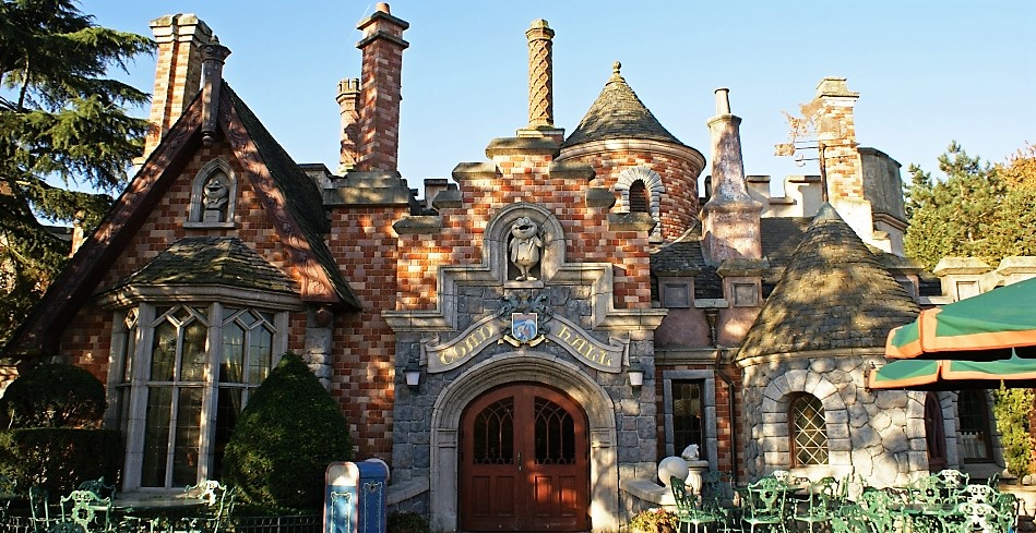 Disneyland Paris Restaurants Toad Hall