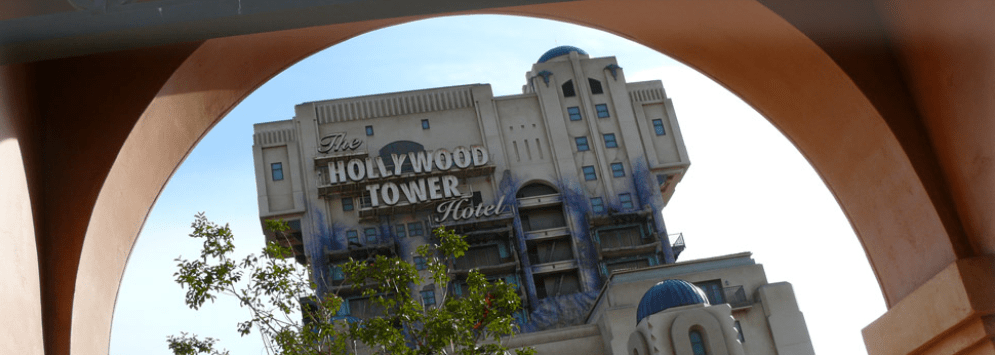 rides for teenagers at disneyland paris - tower of terror