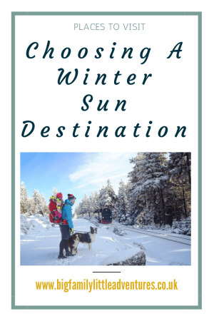 With the nights drawing in and the temperature dropping, its time to start thinking about places that we can go to catch the winter sun.