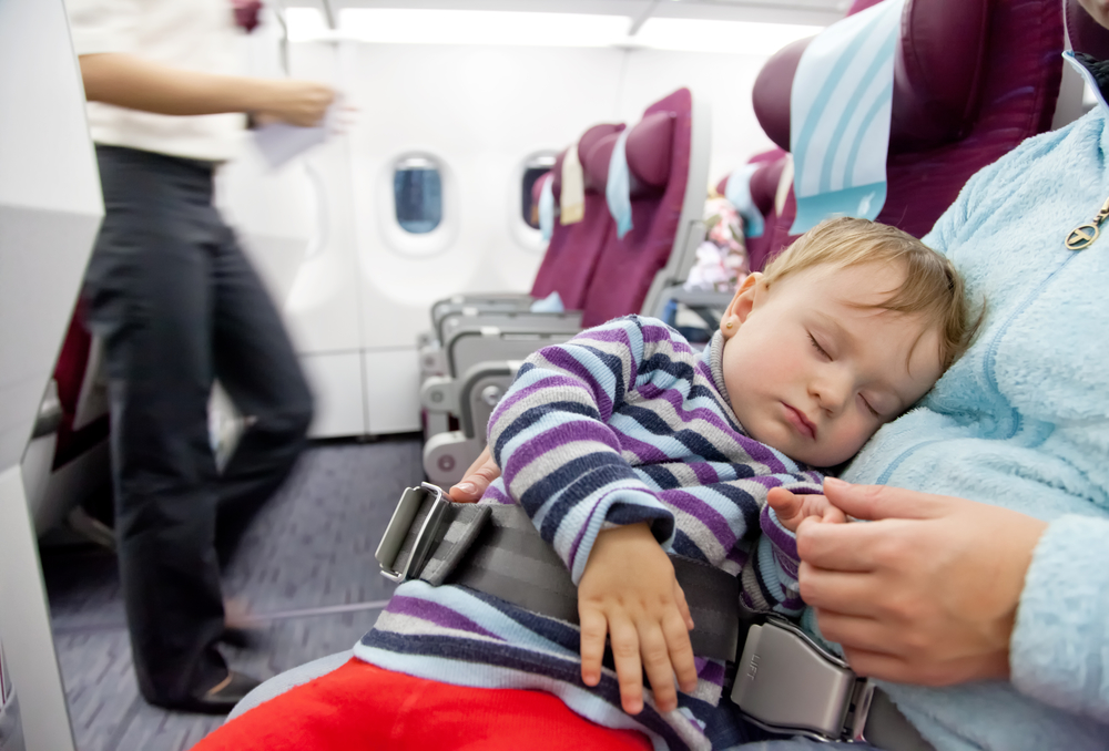 Top 10 tips for surviving a flight with kids