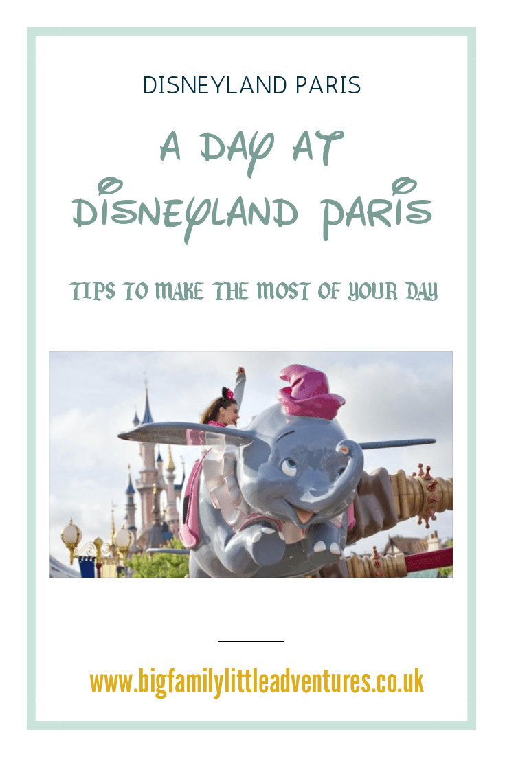 If you are visiting Disneyland Paris, but only have one day to spend there, I have some single day Disneyland Paris tips to offer.