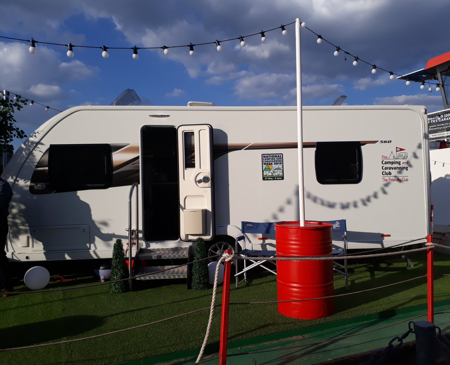 National Camping and Caravanning Week 2019 also celebrated the Eccles Caravans 100th birthday