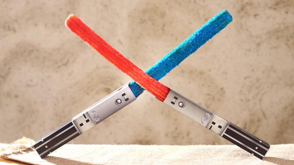 Lightsaber Churros