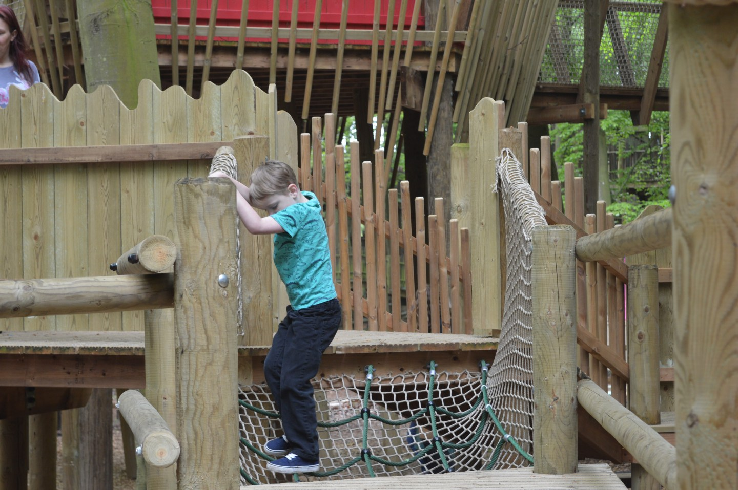 Towering Treetop Tangles at BeWILDerwood