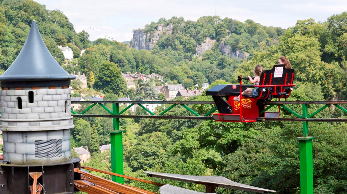 Gullivers Kingdom Matlock Bath Nearest Hotels To UK Theme Parks