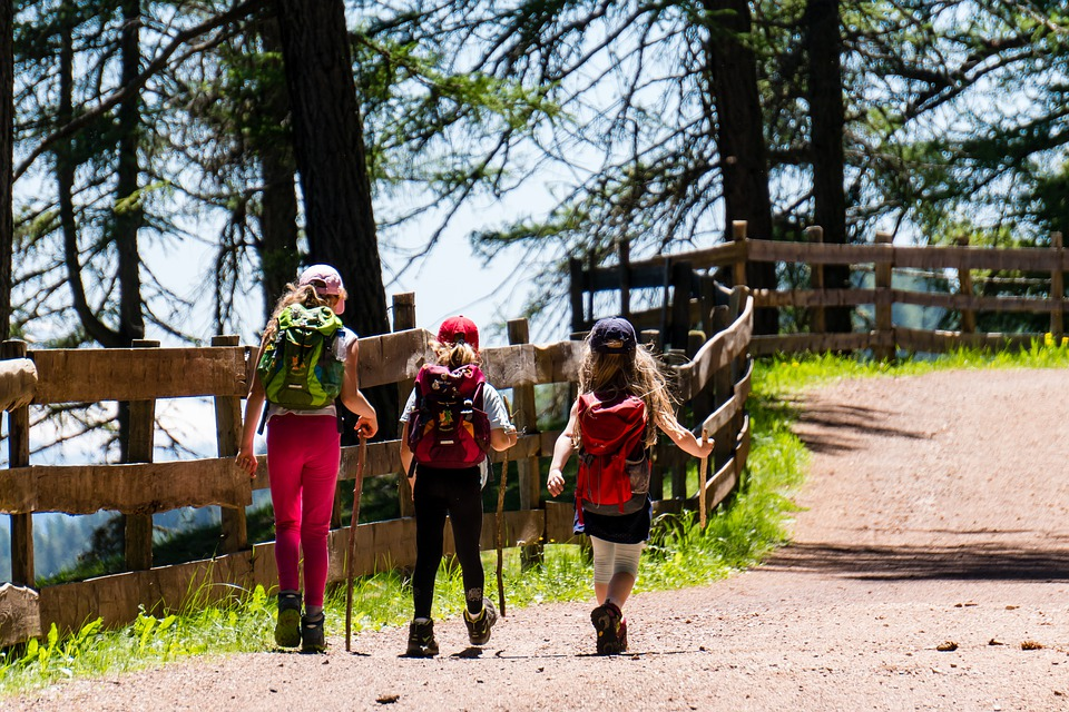 Hiking With Children: Choosing Good Hiking Poles for Safety