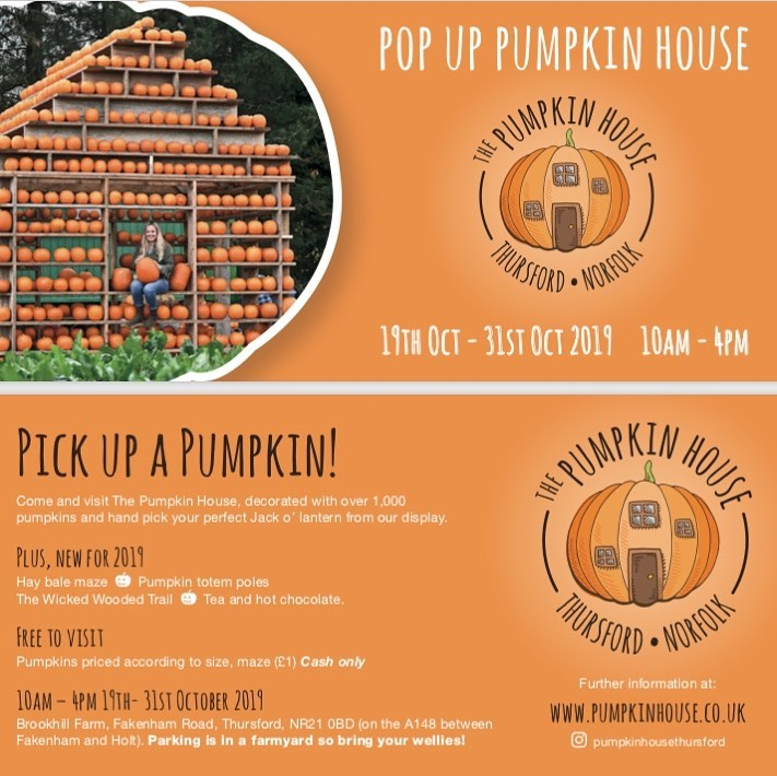 The Pumpkin House Thursford