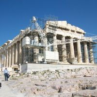 Don't come a cropper at the Acropolis!
