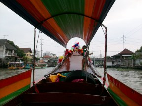 Longtail boat ride