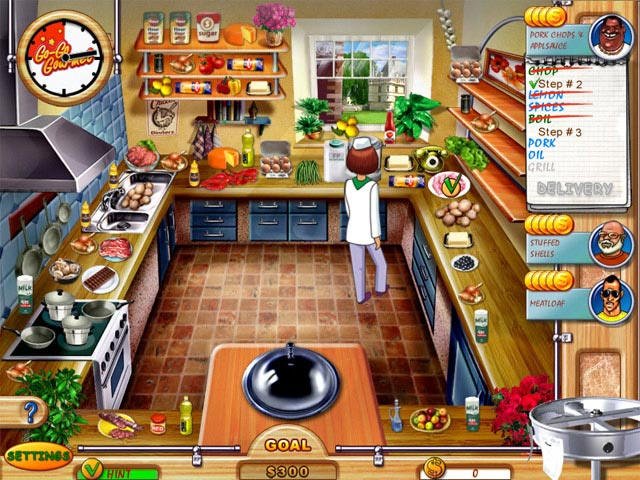 kitchen game orange wallpaper go gourmet ipad iphone android mac pc big fish games