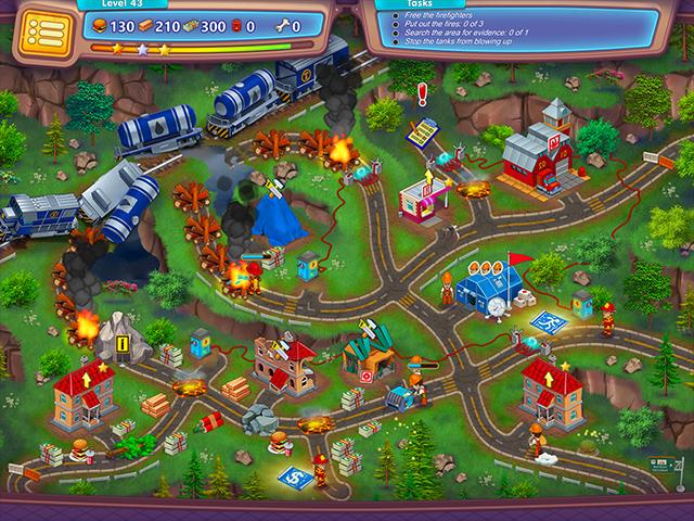 Rescue Team: Evil Genius - Screenshot 1