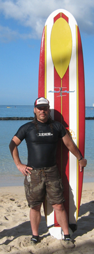 Shaun loves the classics surfboard shapers