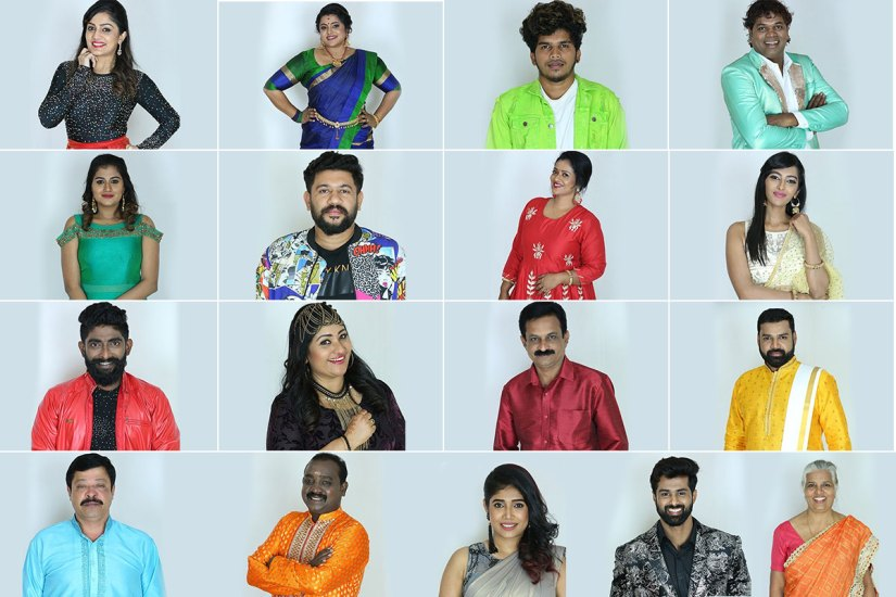 Bigg Boss Malayalam 2 Contestants