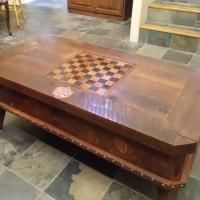 coffee table with secret compartments