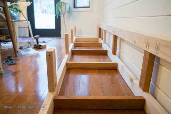 DIY Banquette Bench Seating
